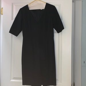 Trina Turk black v neck dress